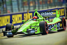 JR. Hildebrand- Go Daddy- Indy Car