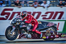 Matt Smith- Viper Pro Stock Bike- NHRA